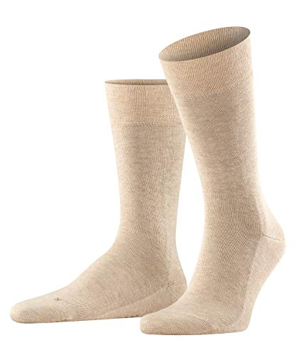 FALKE Herren Sensitive London M Socken, Beige (Sand Melange 4650), 39-42 EU