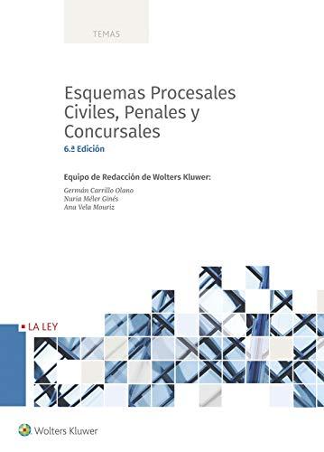 Esquemas Procesales Civiles, Penales y Concursales (Temas)