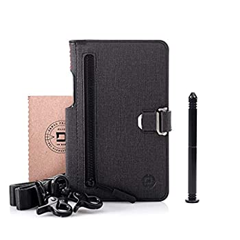 Dango P02 Pioneer Travel Wallet w/Pen - Black DTEX/Jet Black