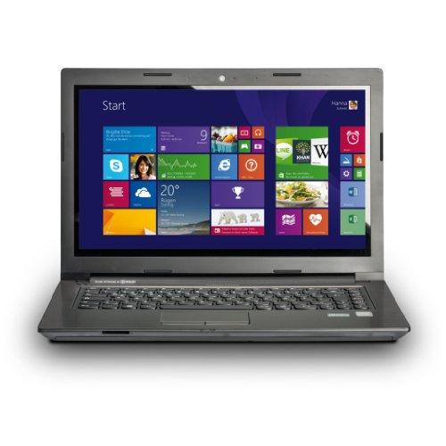 MEDION AKOYA S4217T (MD 98712) 35,6 cm (14' Zoll) Laptop (Intel Core i3-4010U, 1,7GHz, 4GB RAM, 1000GB SSHD, Intel-HD Grafik, Win 8) titan