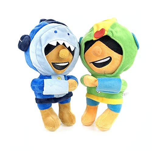 aolongwl Juguete de Peluche Juegos De Pelea 2pcs / Cartoon Star Hero Anime Cute Plush Dolls Boy Girl Toy Child Birthday Gift