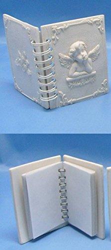 Féeries et merveilles Figurine Ange - CARNET, Bloc Note Ange - Angelot - HT 9 X 7 CM