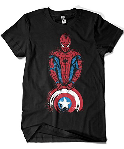 1062-Camiseta The Spider is Coming (Dr.Monekers) L