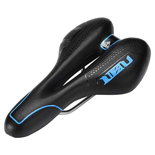 YUNIAO Mountain MTB Bike Gel Saddle - Bike Bicycle Cycling Seat Soft Cushion Pad - Breathable 3D Soft Cushion Cover for Bicycles - Extra Comfort Saddle - 28 x 15 cm