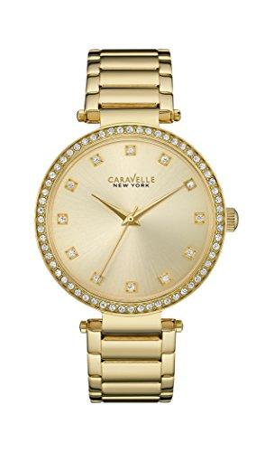 Caravelle Ny Ladies Crystal Dress 44L209 - Orologio da Polso Donna