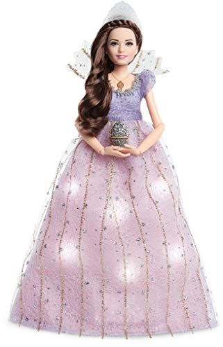 Barbie FRN75 - Signature Disney De notenkraker en de vier rijke Claras lichtglans jurk pop