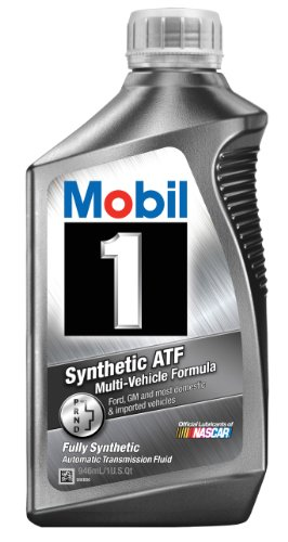 Mobil 1 112980 Synthetic Automatic Transmission Fluid - 1 Quart
