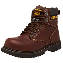 "Caterpillar Men's 2nd Shift 6"" - Most Comfortable Work Boots"