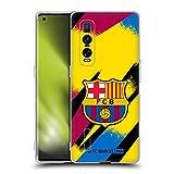 Head Case Designs Licenciado Oficialmente FC Barcelona Portero Tercera equipación 2019/20 Crest Kit Carcasa de Gel de Silicona Compatible con OPPO Find X2 Pro 5G