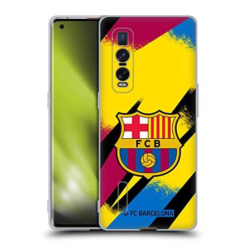 Head Case Designs Oficial FC Barcelona Portero Tercera equipación 2019/20 Crest Kit Carcasa de Gel de Silicona Compatible con OPPO Find X2 Pro 5G