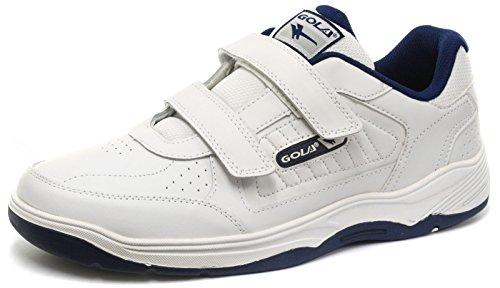 Gola Ama202, Zapatillas de Deporte Exterior Hombre, Blanco (White/Navy Web), 42 EU