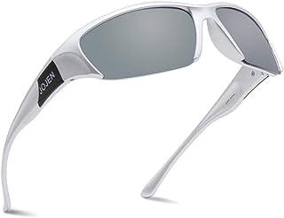 JOJEN Polarized Sports Sunglasses for Men Women Cycling...