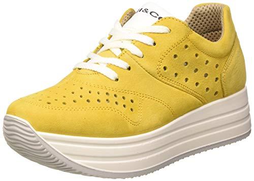 Igi&Co Scarpa Donna Dky 51657, Zapatillas de Gimnasia Mujer, Amarillo (Giallo 5165722), 37 EU