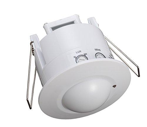Garza Power - Detector de Movimiento Microondas de Techo...