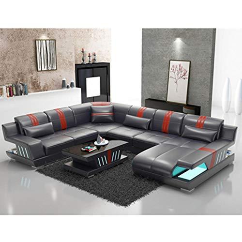 Winpavo Sofá Conjunto De Sofás Sofá De La Esquina Sofá Modular Recién Llegado Diseño Moderno En Forma De U Seccional 6 7 Plazas Tela O Sofá De Cuero Esquina Personalizado-C