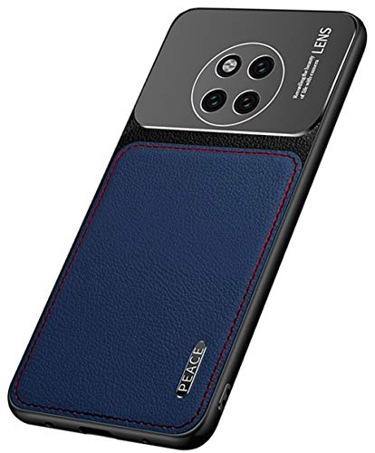 """MOONCASE Huawei Mate 20 Pro Caso,Ultra Fino Couro PU Macio TPU Mate Metal Fosco Capa de Proteção Câmera Capa à Prova de Choque para Huawei Mate 20 Pro 6.39"""" -Azul"""