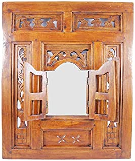 /Orange Henn/é/ MAISON ANDALUZ XLarge Ornate Arch marocain Miroir Diamants Insert/ /H80/W50/cm