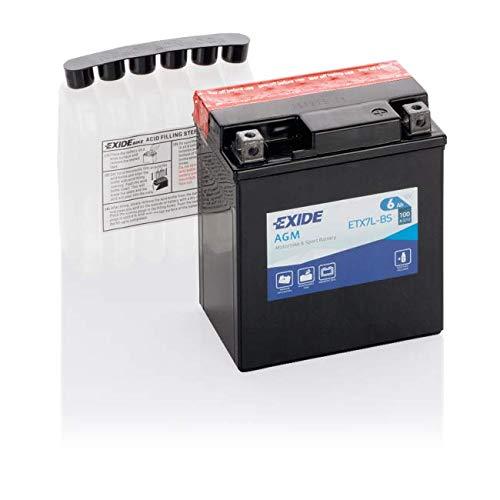 Exide - Batería ytx7l-bs