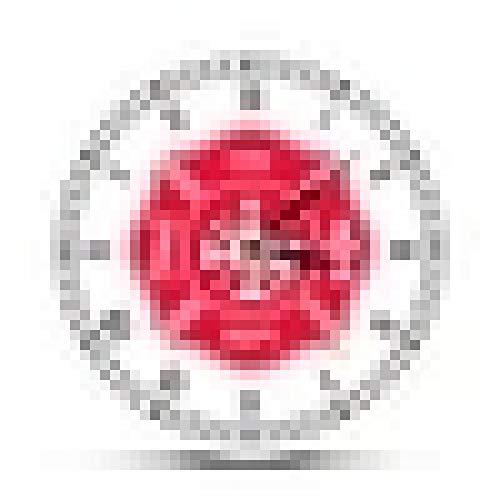 Reloj de Pared Bombero Cruz de Malta Reloj de Pared Retro Primer respondedor Departamento de Bomberos Decoración Reloj con números Romanos Regalos de Bomberos
