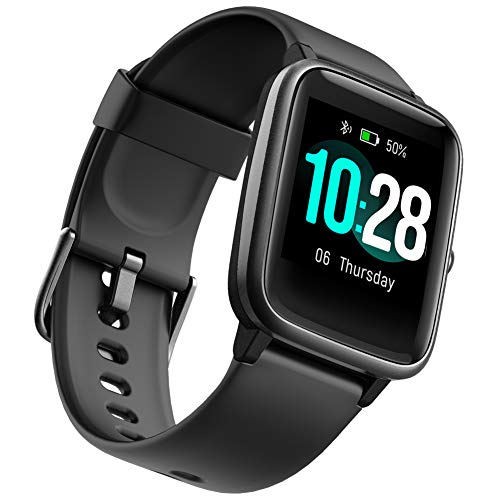 Health and Fitness Smartwatch with Heart Rate Monitor, Smart Watch for...