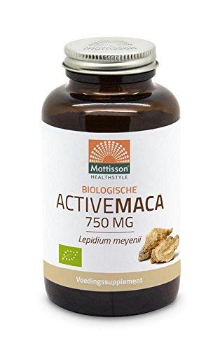 Mattisson Active Maca 750 mg - 90 vc