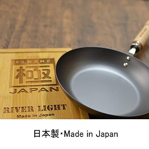 リバーライトクレープパン極ジャパン26cmIH対応鉄日本製