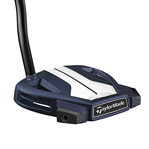 TaylorMade Golf Spider X Navy/White Single Bend Putter, Right Hand, 34 -  M2745926