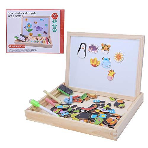 Stärken Sie die praktische Fähigkeit ungiftig und sicher Doppelseitiges Zeichenbrett, logische Fähigkeit Kinderspielzeug, Erwachsene Ostern Geburtstagsgeschenk nach Hause für Kinder