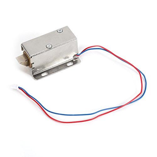 Mini Elektroschloss, Elektrisches Elektromagnetisches Elektrisches Schaltschrank-Fach des DC 12V Elektromagneten Geeignet für alle Arten von Türen, Fenstern, Boxen, Schränken