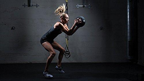TRX Training Slam Ball, Easy-Grip Tread & Durable Rubber Shell, 20lbs