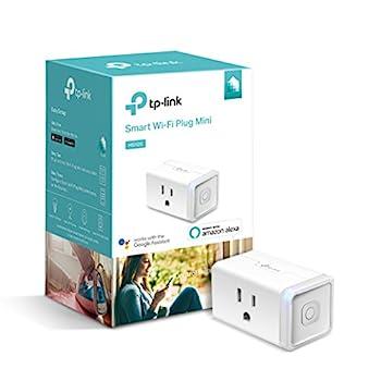 Kasa Smart HS105 Mini WiFi Smart Plug tplink 1-Pack White