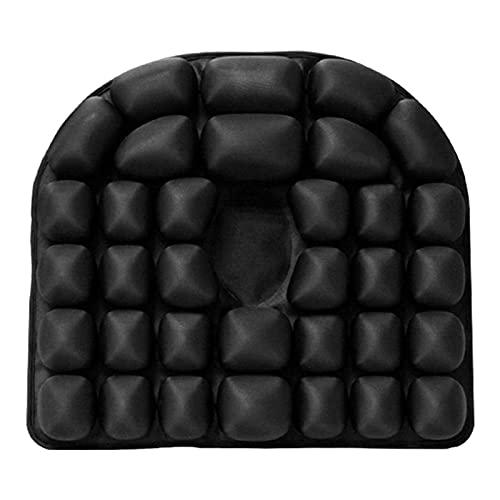 Chair Cushion Back Cushion Seat Cushions - Air Seat Cushion Inflatable Breathable Car Wheelchair Pad Buttock Air Seat Cushion Home Office Health Durable (Color : Grey)