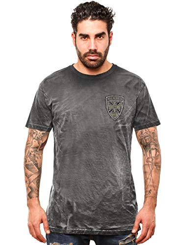 WEST COAST CHOPPERS Herren T-Shirt Hill Raisers Vintage, Größe:XL, Farbe:Black
