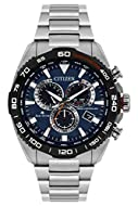 Citizen Men's Chronograph Eco-Drive Watch with Stainless Steel Strap CB5034-58L
