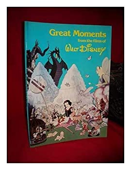 Paperback Great Moments From the Films of Walt Disney Book