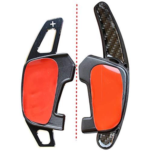 LED-Mafia 2X Schaltwippen DSG - Verlängerung Shift Paddle - Carbon Optik Alu - Schaltung 1d (Carbon Optik)