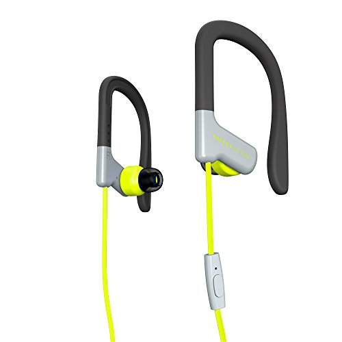 Energy Sistem Earphones Sport 1 (Auricular intrauditivo, Sistema de sujeción, micrófono, Control de reproducción, Sistema de fijación) Amarillo
