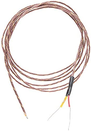 Thermocouple Type-K - Glass Braid Insulated (Bare Wire) by  Electronics123 , Inc.