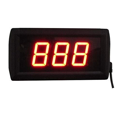 Reloj de Cuenta atrás Reloj Deportivo Digital de 1,8 Pulgadas LED for Gimnasio Deportivo Reloj Temporizador de Cuenta Regresiva Reloj de Pared Gran Reloj de Cuenta atrás Digital