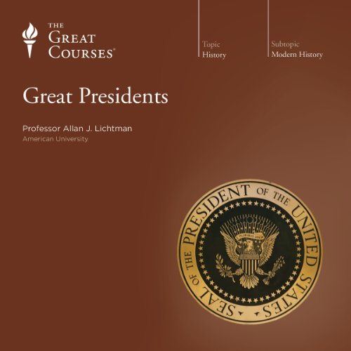 Great Presidents audiobook cover art
