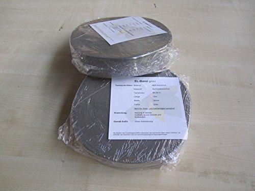 Heizungstape Rohrisolierung Klebeband für Kaiflex- Armaflex-Band grau (wie SchatTec)