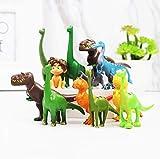 zpyplDisney Pixar Dinosaur Mini Action Figures。12pcs Dinosaur Cake Topper, Cake Decoration, Birthday Party Supplies, Game Toy Party Collection