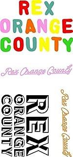 MR3Graphics Magnet Rex Orange County - Stickers Magnetic Car Sticker Decal Bumper Magnet Vinyl 5