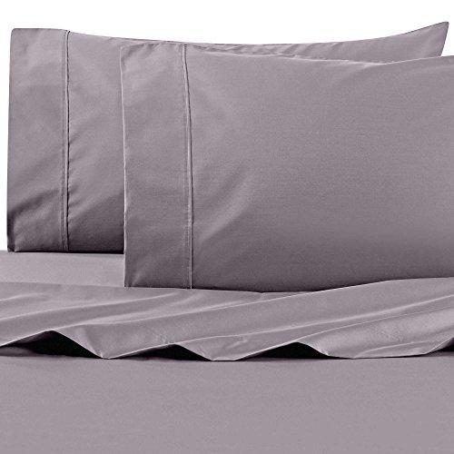 Wamsutta 625-Thread Count PimaCott King Sheet Set in Charcoal