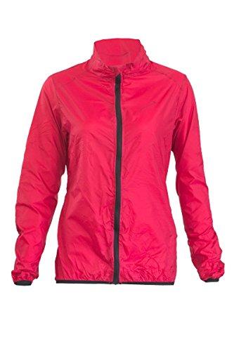 Crivit Sports® Damen Funktionsjacke - Wasserabweisend & Atmungsaktiv - Ultraleicht (S [36/38], Rot)