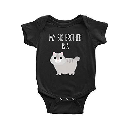Toll2452 Maine Coon - Mameluco para bebé, diseño de gato