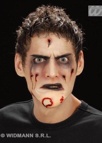 Bâton de Halloween sur Rotting Zombie menton