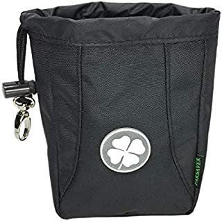 Players Premium Clover Valuables Pouch - A Must Golf Accessories Bag - Safely Store Jewelry Phone - Golf Tees Divot Tool Ball Markers - Even use it as Coin Pouch - Lucky Chip Pouch at Casino