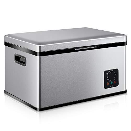 LJ Congelador de refrigerador portátil del compresor del coche de 18 litros, 12 V / 24 V