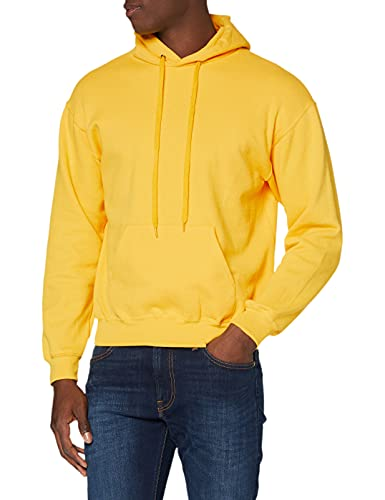 Fruit of the Loom SS026M, Sudadera con capucha Para Hombre, Amarillo (Sunflower Yellow), Large